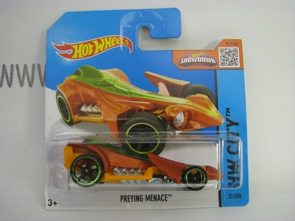 Hot Wheels 2015 Preying Menace HW City CFM05